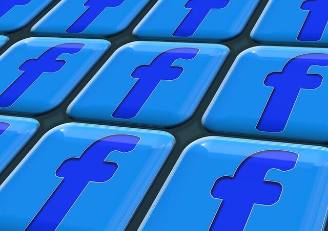 Ikony facebooka jako klawiatura