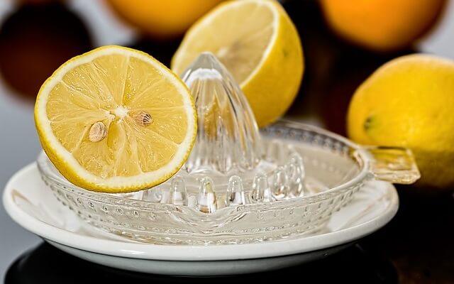 Cytryny i wyciskacz