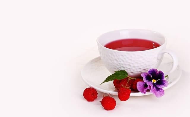 Herbata z maliną