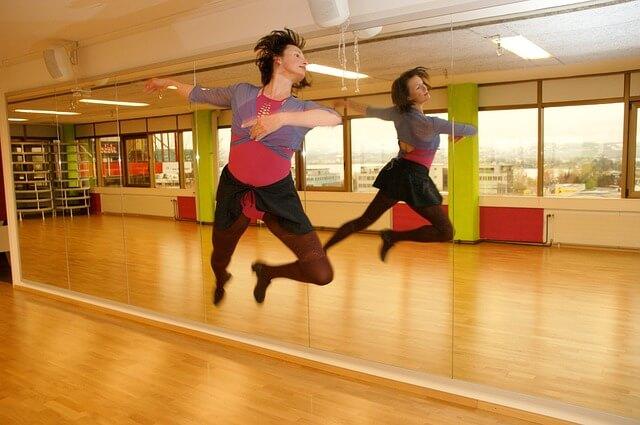 Taniec przed lustrem