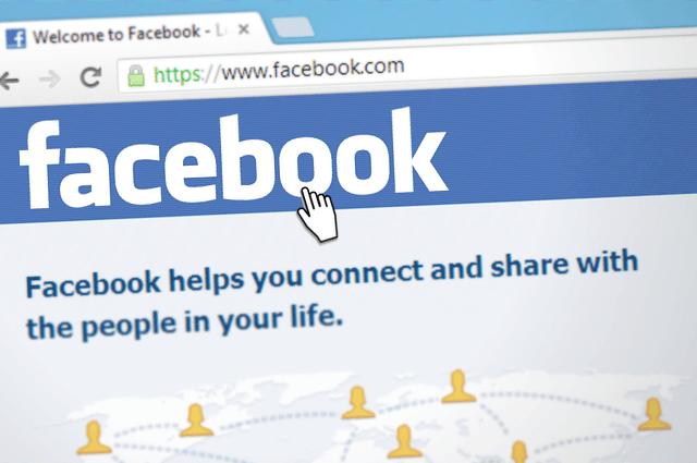 Strona logowania do Facebooka