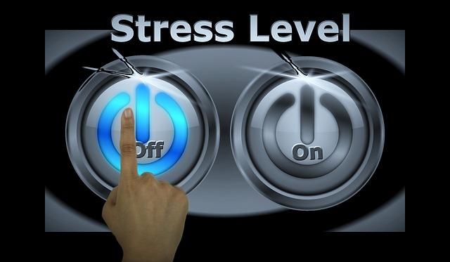 Wyłączanie stresu za pomocą przycisku