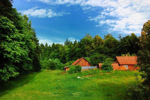 gospodarstwo agroturystyczne na wsi