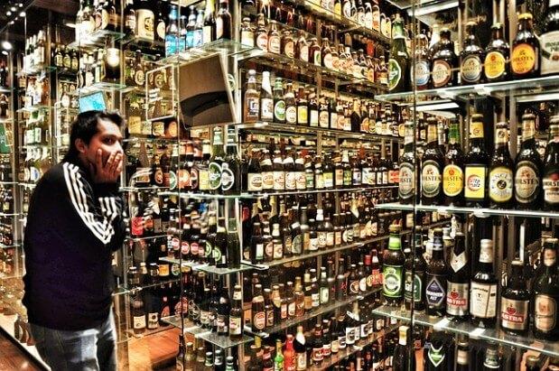 sklep z alkoholem