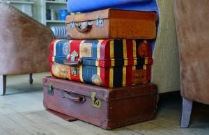 spakowane walizki