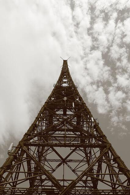zabytkowa wieża radiostacji gliwice