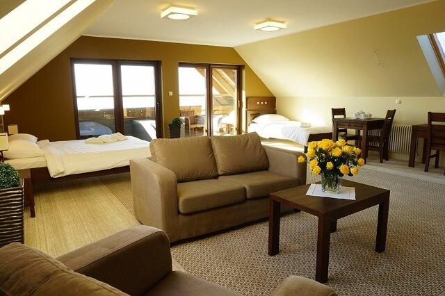 luksusowy apartament w hotelu