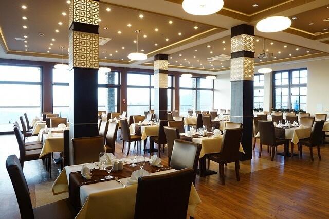 Restauracja w Hotelu Złoty Groń w Beskidach