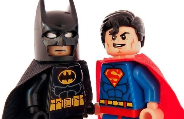 lego batman i superman