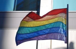 różnokolorwa flaga