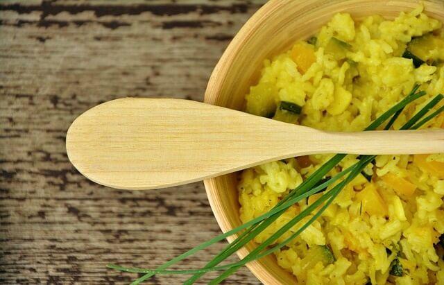 Danie risotto z ryżu
