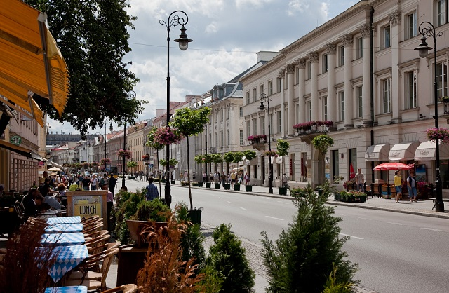 Ulica Nowy Świat Warszawa