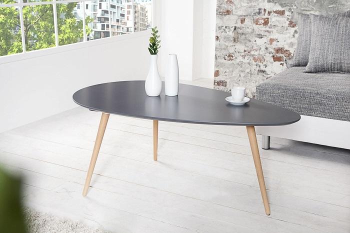 Grafitowy stolik kawowy