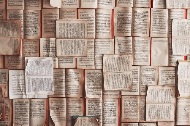 stronice książek