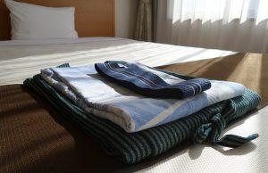 Łóżko w hostelu