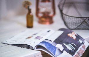 Katalog na stole